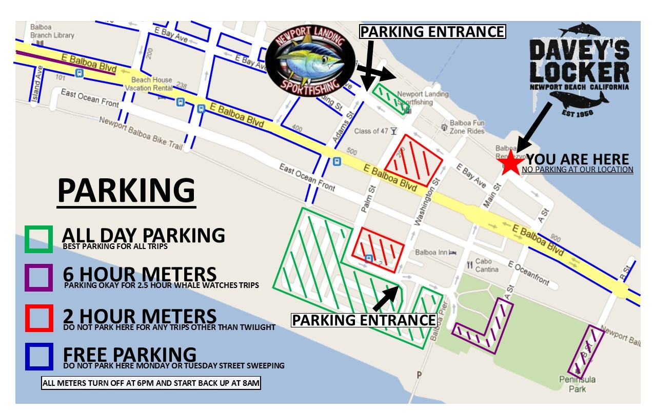 GMAP PARKING MAP DAVEYS
