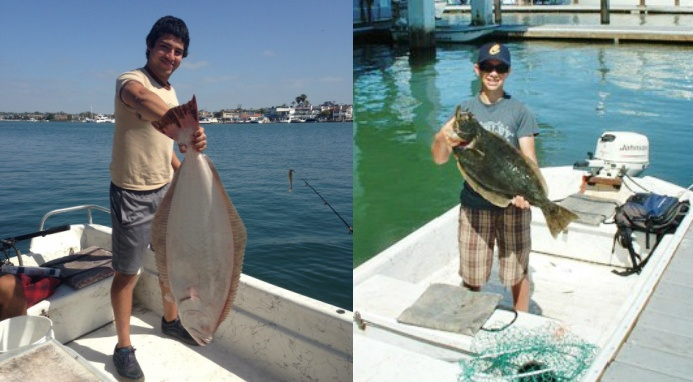skiff rentals and small boat rentals for los angeles fishermen