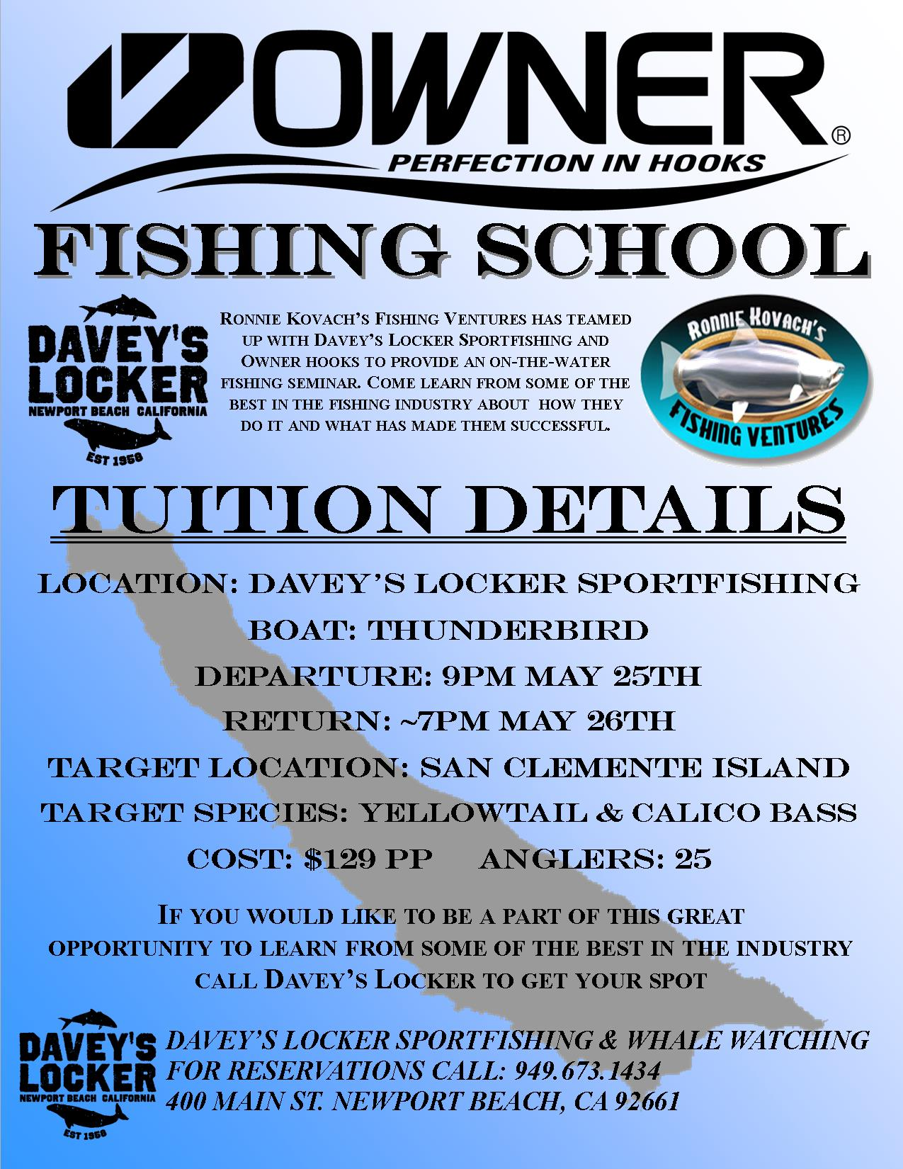 Ronnie Kovach Owner Fishing School 2