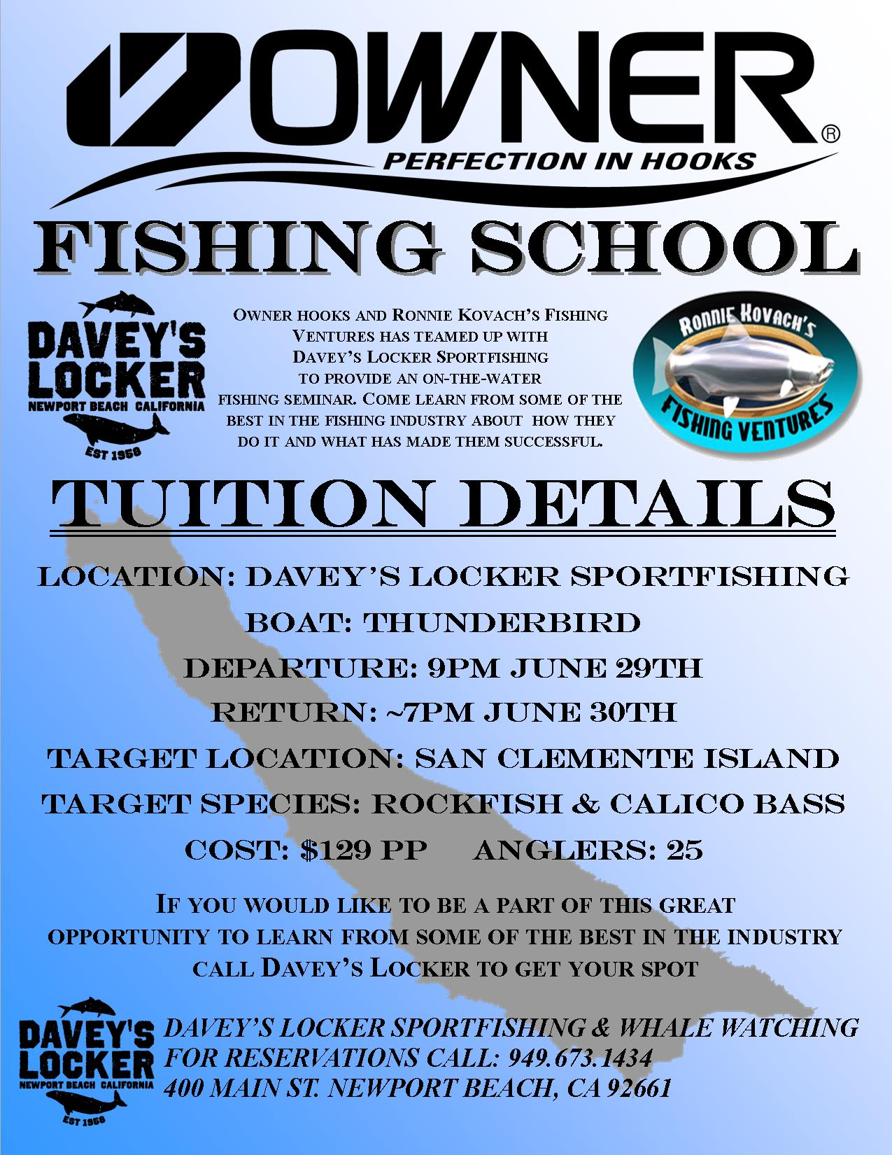 Ronnie Kovach Owner Fishing School