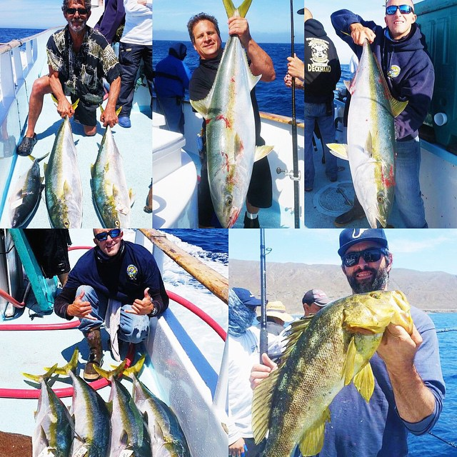 Fish count from the thunderbird overnight trip today with for Davey s locker fish count