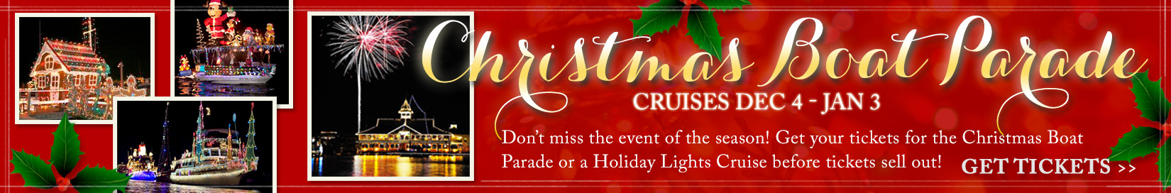 Cruise Newport Beach Holiday Cruises Including Christmas, fourth ...