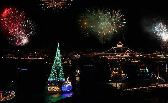 Private Rental Newport Beach Christmas Boat Parade